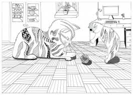 animals coloring pages for adults justcolor