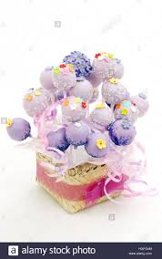 cake pop bucket a bunch of cake pops decorate with webbing from