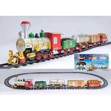17 battery operated lighted animated express