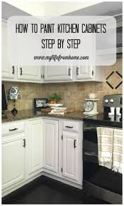 How To Refurbish Kitchen Cabinets How To Paint Kitchen Cabinets No Painting Sanding Kitchens And