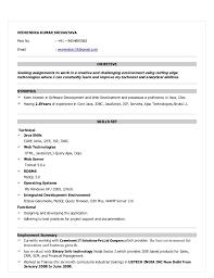 Java Developer Sample Resume by Software Developer Resumes Sample Resume Format For Software