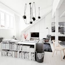 white loft apartment a bachelor u0027s paradise u2013 adorable home