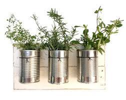 rustic wall planter indoor hanging planter indoor herb