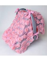 Pink Car Seat Canopy by Car Seat Canopy Cover