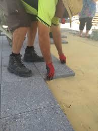 Exposed Aggregate Patio Stones Exposed Aggregate Paving Transforms Perth Backyard Bonitastone