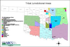 Shawnee Map Liaisons To Tribes Nrcs Oklahoma