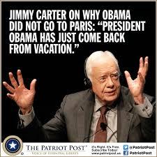 Carter Meme - meme carter on obama s absence the patriot post