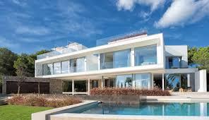 Villa Kaufen Modern Minimalistische Neubau Villa In Sol De Mallorca Kaufen