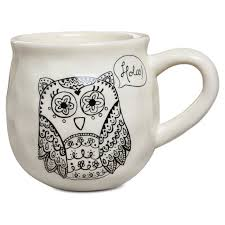 owl mug happy mug owl 16 oz mugs teacups hallmark