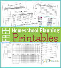 homeschool planning resources u0026 free printable planning pages