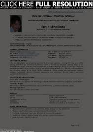Dot Net Resume Sample by Sample Dot Net Resume For Experienced Free Resume Example And