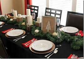 simple christmas table settings simple holiday table decor one little momma