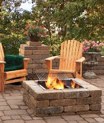 Fire Pit Insert Square by If You U0027re On A Budget Try Our Economy Square Fire Pit Kit That