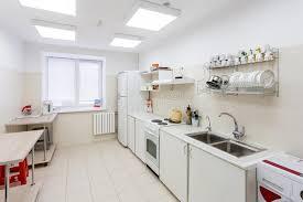 cuisine d enfants intérieur de cuisine dans le jardin d enfants photo stock image du