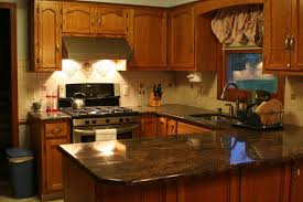 tile backsplash ideas with black granite countertops home design