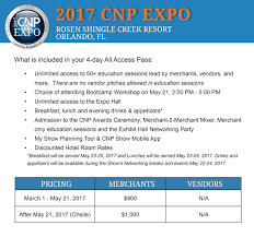 attendee justification tool cnp expo