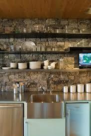 Kitchen Wall Design Ideas 43 Kitchen Design Ideas With Stone Walls Decoholic
