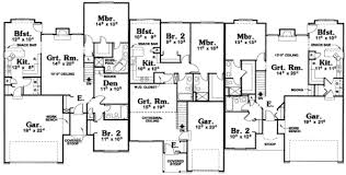 2 story house blueprints house 24141 blueprint details floor plans