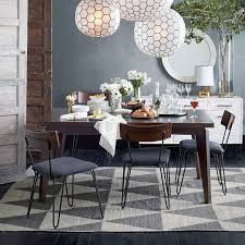 west elm expandable table angled leg expandable table square tables room and dining