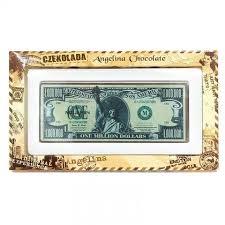 edible money chocolate usa banknote chocolate dollars one million