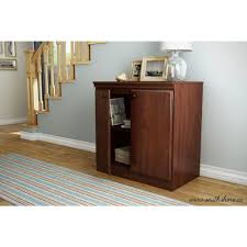 south shore storage cabinet south shore morgan royal cherry cabinet 7246722 the home depot