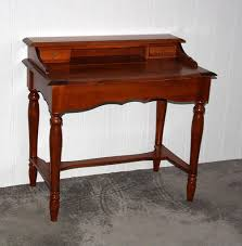 Schreibtisch Holz Italienischer Sekretär Kirschbaumfarben Schreibtisch Konsolentisch
