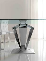 Contemporary Dining Table Base Modern Dining Table Bases For Glass Tops Top Pertaining To Base