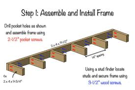 Free Wooden Garage Shelf Plans by Diy Floating Shelf Free Plans Rogue Engineer