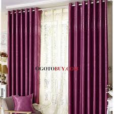 Black Out Curtain Fabric Wine Color Embossed Light Insulated Blackout Curtain For Living