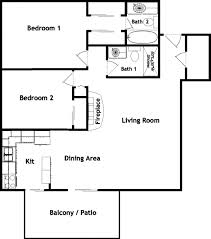 One Room Apartment Floor Plans by Interior Design 19 One Bedroom Floor Plans Interior Designs