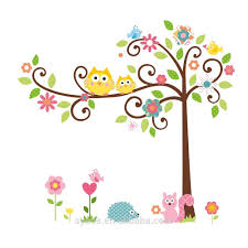 new hot 3d removable swing owl birds colorful scroll tree wall art new hot 3d removable swing owl birds colorful scroll tree wall art decal stickers for nursery room home decor buy owl scroll tree wall stickers tree wall
