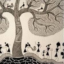 Warli Art Simple Designs Warli Painting By Smita Sumant Hyhyhy Pinterest Indigenous