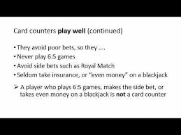 Counting Cards Blackjack How To Bet Casino Workers How To Identify Card Counters Without Counting