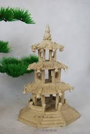 ancient buildings three octagonal ceramic ornaments