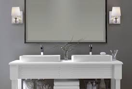 Wall Sconces For Bathrooms The Correct Height For Bathroom Wall Sconces