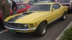 Mustang Yellow And Black File U002770 Ford Mustang Mach I Coupe Centropolis Laval U002710 Jpg