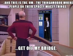 Jean Luc Picard Meme - the 11th doctor vs captain jean luc picard meme on imgur