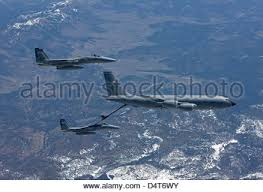 f 15 eagle receives fuel from kc 135 stratotanker wallpapers two f 15 eagles from the 173rd fighter wing taxi out to take off
