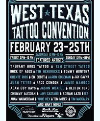 9th annual west texas tattoo convention at mcnease convention