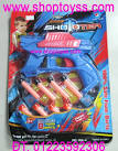 Toàn Quốc - <b>Súng bắn</b> đạn cao su gun toy, đồ chơi trẻ em an toàn, máy