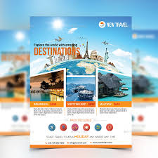 travel and tourism brochure templates free travel poster template future templates