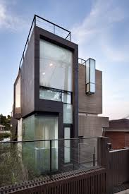 divine 2 storey contemporary house in canada featuring exterior