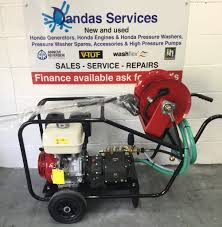 honda gx390 petrol pressure washer interpump ws201 gearbox pump