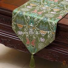 luxury damask table runner elegant luxury damask christmas home decor table runners china style