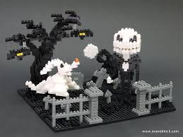 nanoblock nightmare before christmas graveyard scene flickr
