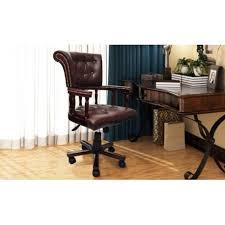 fauteuil de bureau chesterfield fauteuil de bureau capitaine brun