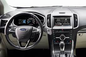 Ford Edge Interior Pictures New Ford Edge Suv Is Ready For A Global Adventure Video