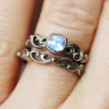 Moonstone Wedding Ring by Wedding Set Gold Ring And Moonstone Ring Ringscollection