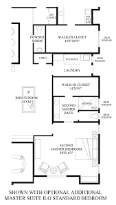 Powder Room Plans Toll Brothers At Adero Canyon The Parker Az Home Design