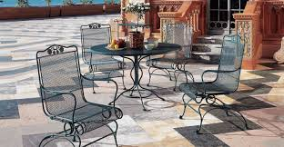 Wrought Iron Patio Chairs Costco Furniture Inspirations Excellent Walmart Patio Chair Cushions To